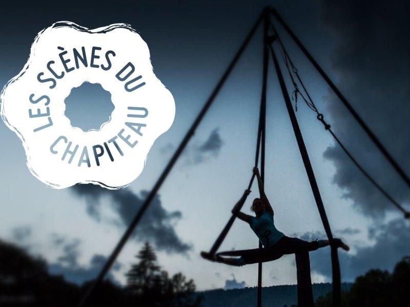 Création logo du festival les Scènes du Chapiteau