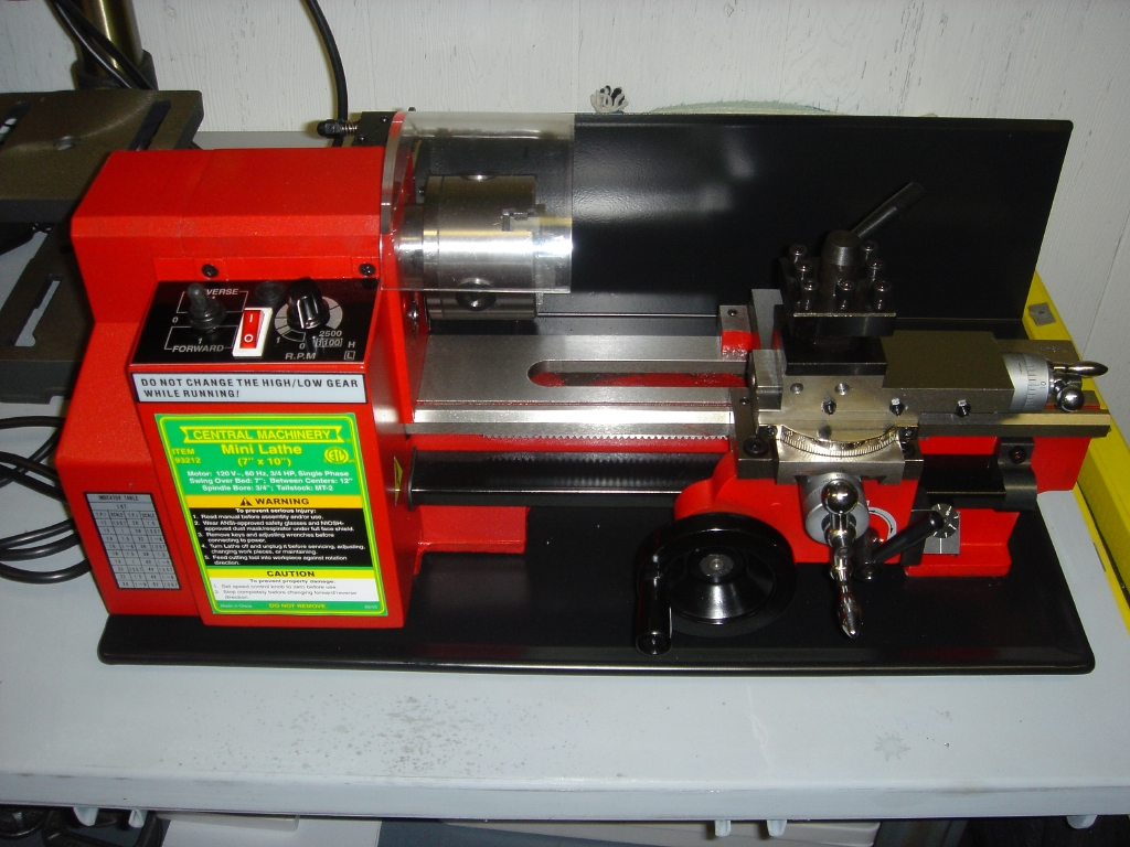 Genial Information On Harbor Freight X Mini La Bamboo Rodmaker Tools Central Machinery X Precision Mini Available At Harbor Freightmini La Home Your Source houzz-03 Harbor Freight Lathe