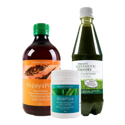 Grasses of Life Gut Combo Pack