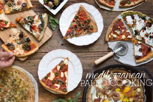 Paleo Mediterranean Whole Wheat Pizza