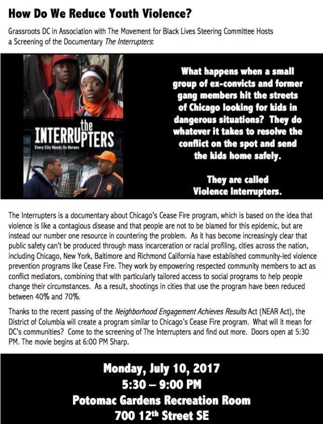 Interrupters Flyer