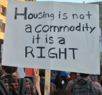 Housing not a commodity