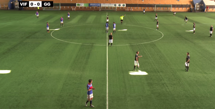 22 amateurs take on 11 professional footballers