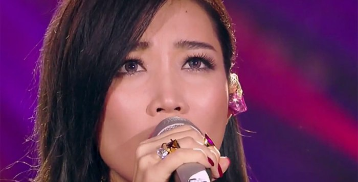 A-Lin in I Am A Singer 3 Round 5