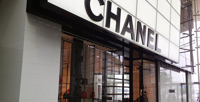 Chanel price alignment Singapore