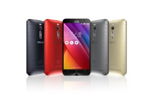 ASUS ZenFone 2 comes in four attractive colours (photo: ASUS)