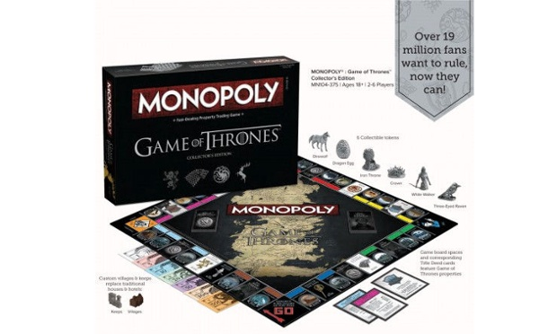 Game of Thrones Monopoly looks pretty fun (photo: HBO)