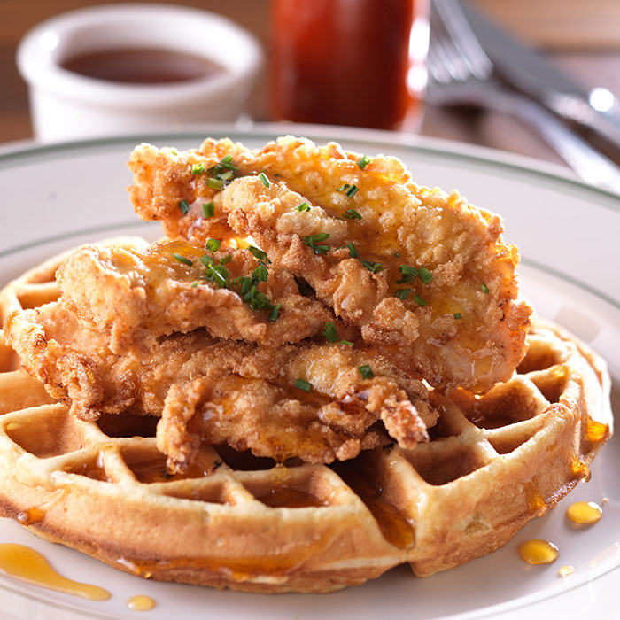 Chicken & Waffles at Clinton Street