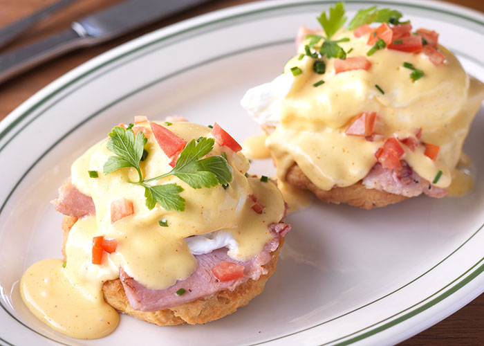 Eggs Benedict at Clinton Street