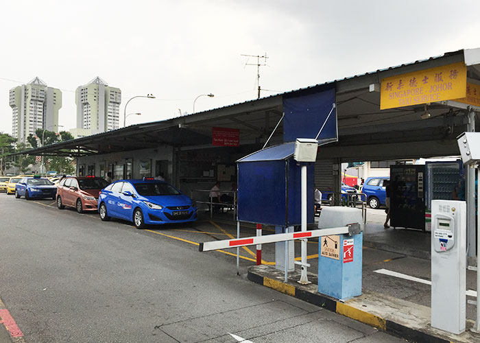 Taxi stand at Queens Street
