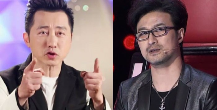 Harlem Yu and Wang Feng in The Voice of China 4 Episode 11