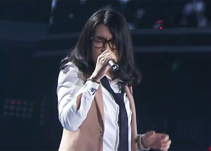 Zhang Shu in The Voice of China 4 Episode 12
