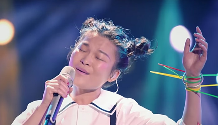 Su Yun Ying in I Am A Singer 4 Round 3