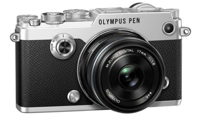 Front view of the Olympus Pen-F