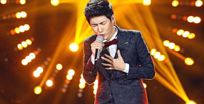 Wang Xi in I Am A Singer 4 Round 6