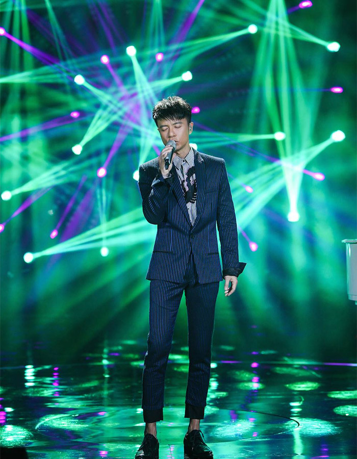 Hacken Lee in I Am A Singer 4 Round 8