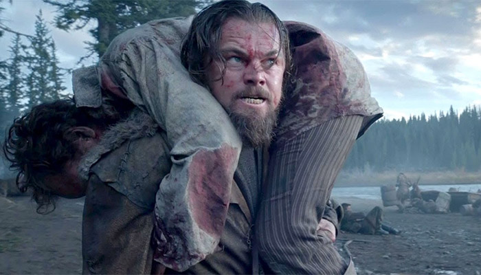 Movie stills from The Revenant