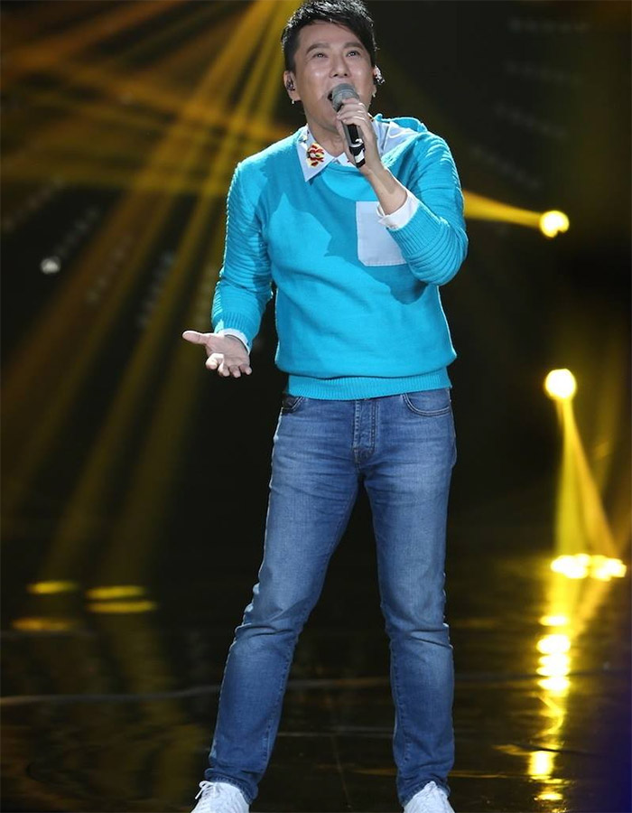 Jeff Chang  in I Am A Singer 4 Round 12
