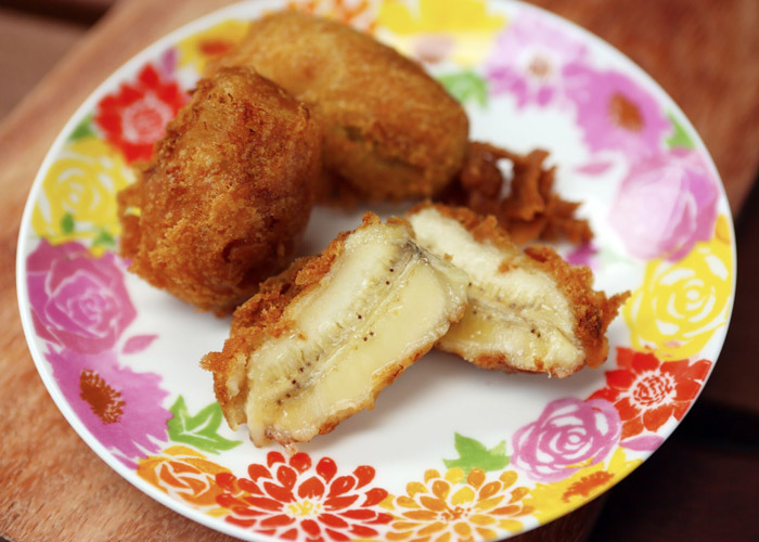 Deep Fried Caramelized Banana Fritters by Chow Fun Restaurant