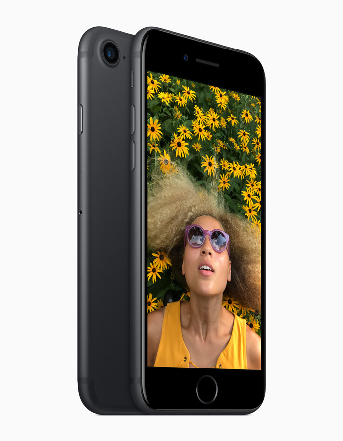 Optical image stabilization is now available on both iPhone 7 and iPhone 7 Plus cameras.