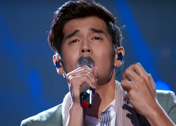 Nathan Hartono on episode 7 of Sing! China