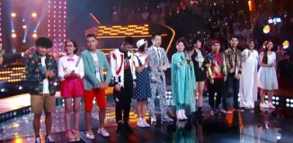 Team Harlem Yu competes on episode 8 of Sing China Season 1