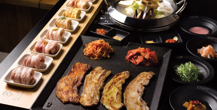 Eight Korean BBQ, Signature Mangalitsa specialities