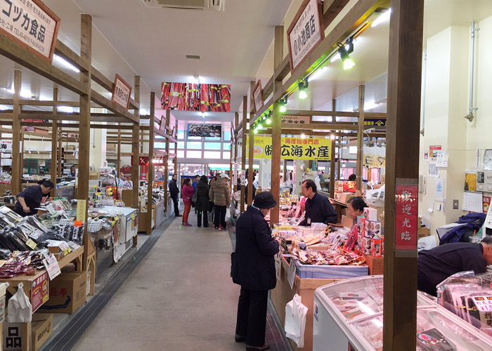 Interior of Hakodate Morning Market