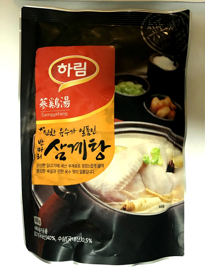 Instant samyetang from Lotte Mart