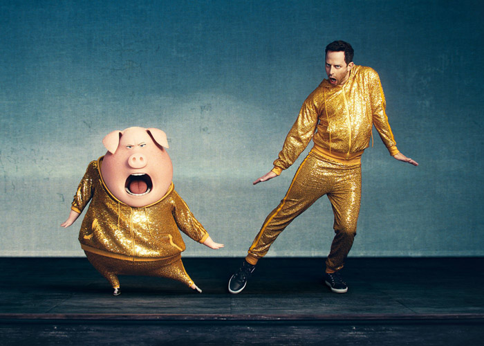 Nick Kroll as Gunter in Sing