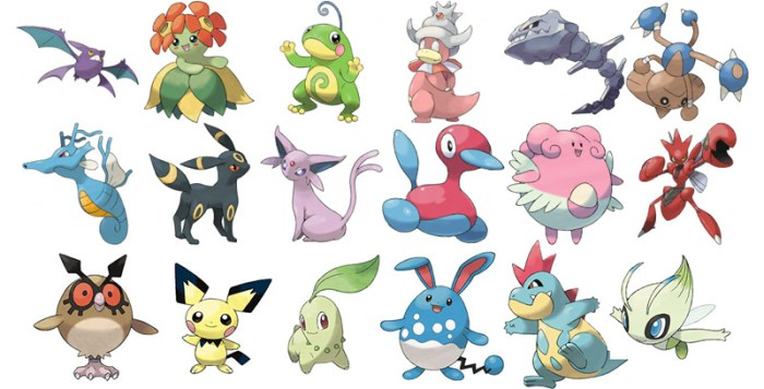New Pokemons on Pokemon GO 152 - 251