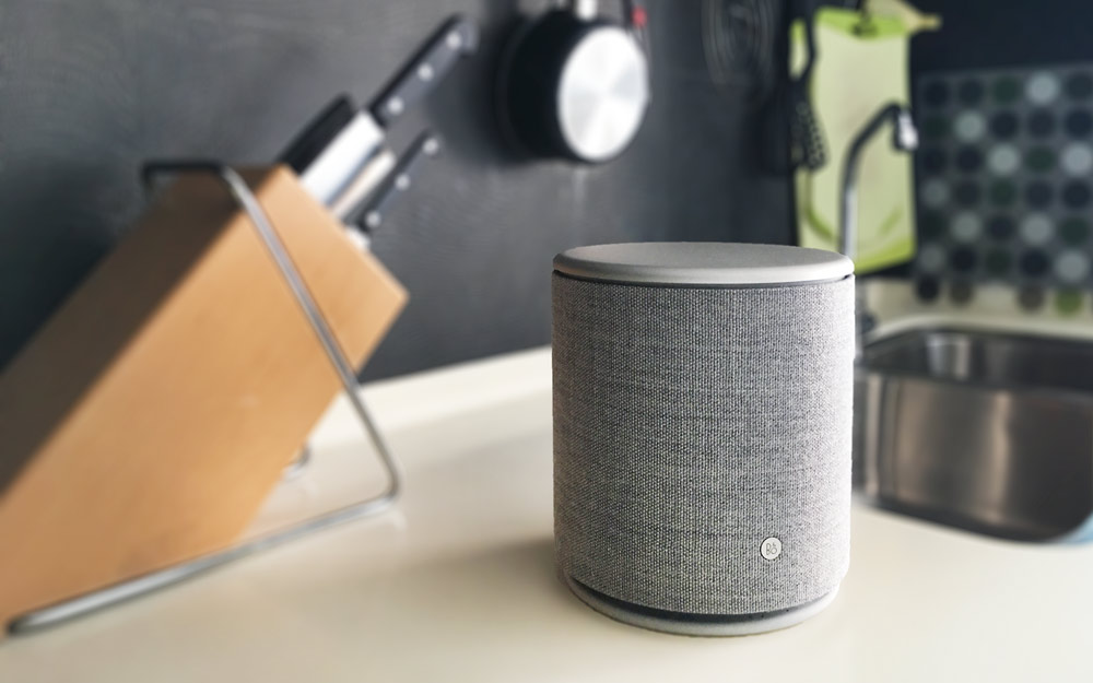 Bu0026O Beoplay M5 On Kitchen Top