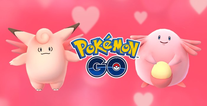 Pokémon Go Valentine's Day event