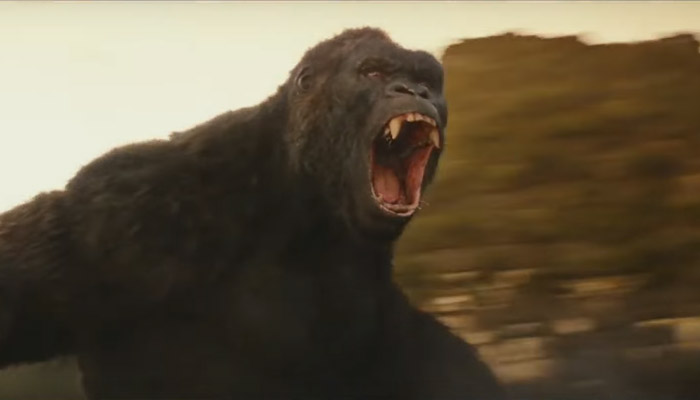 King Kong from Kong skull Island