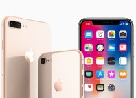 iPhone X, iPhone 8 and iPhone 8 Plus