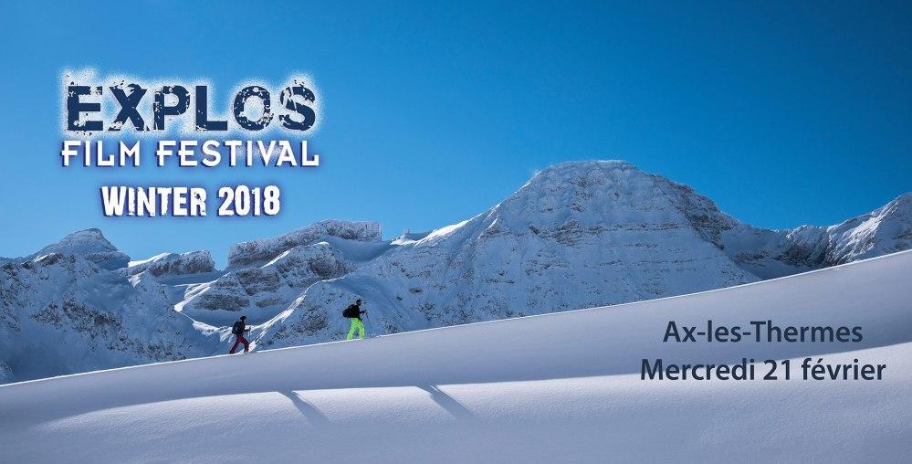 Explos Film Festival - Soirée Winter 2018 @ Cinéma-Casino Ax les Thermes