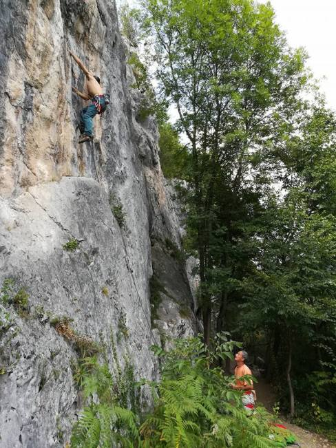 GC - escalade en ariege - alliat - aout 2017
