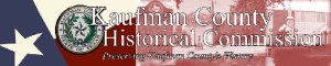 Kaufman County Historical Commission logo