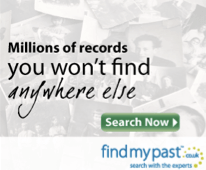Findmypast.com affiliate banner