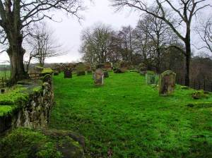 Sark churchyard, Dumfries