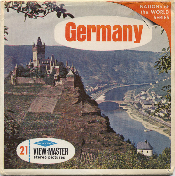 Vintage View-Master: Germany (Nations of the World series), reel 1