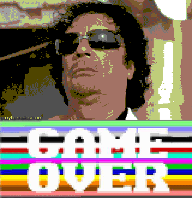 Game over for Gaddafi?