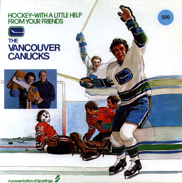 The Vancouver Canucks, Hockey -- With a Little Help from Your Friends
