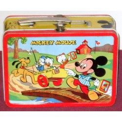Cozy Mickey Mouse Lunch Box Metal Lunch Box Makers Metal Lunch Box Bulk Metal Lunch Box Walmart