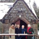 Elders in Invergarry (from left to right): Helen Allen, Ranald MacKenzie, Sonia Robbins, Alex Sandilands and Marigold MacLennan