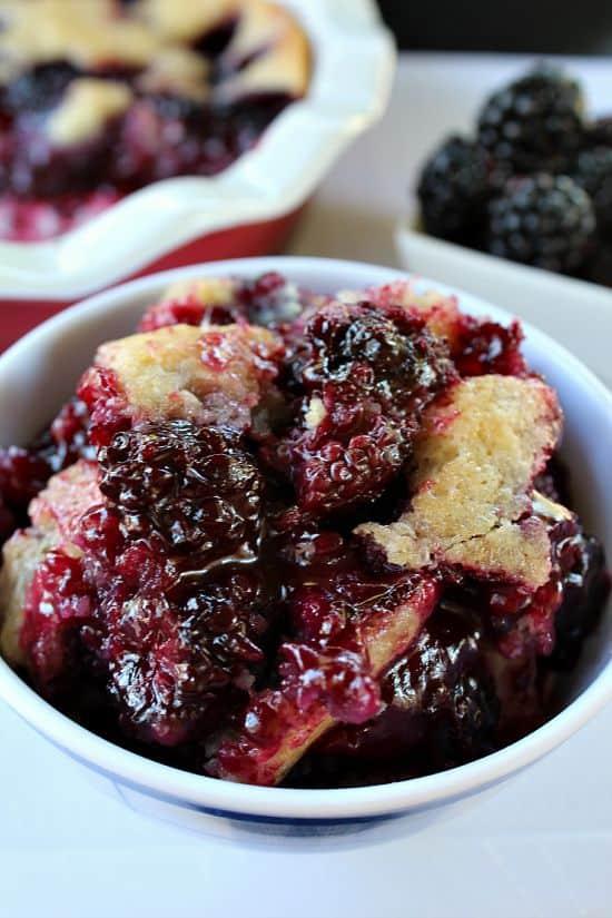 Blackberry Cobbler - Great Grub, Delicious Treats