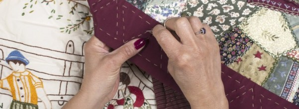 Handmade Quilts - the hands made the love in