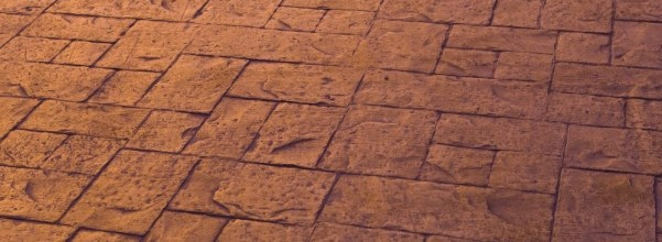 Stamped Concrete - inexpensive way to great texture