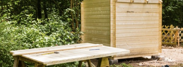Storage Shed Kit - put it someplace in a kit