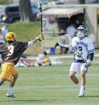 Michigan Wolverines lacrosse Gerald Logan Hotchkiss school